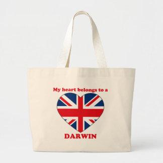 Darwin Jumbo Tote Bag