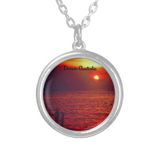 Darwin Beach Silver Plated Necklace