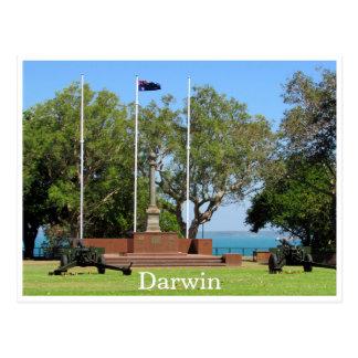 darwin cenotaph postcard