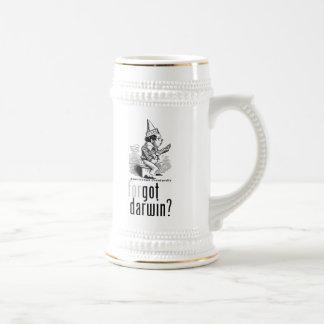 ¿Darwin conseguido? stein Jarra De Cerveza
