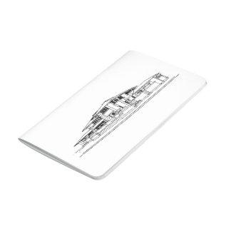 Darwin D. Martin House/negro y blanco Cuadernos
