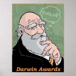 Darwin: Desarrolle la impresión Póster
