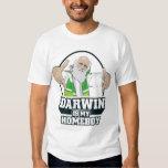 Darwin es mi camisa del ateo del Homeboy