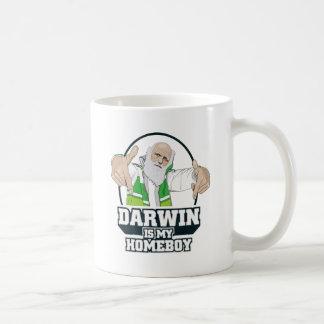 Darwin es mi Homeboy a todo color Tazas De Café