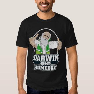 Darwin es mi Homeboy (a todo color) Playeras