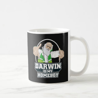Darwin es mi Homeboy (a todo color) Taza Clásica