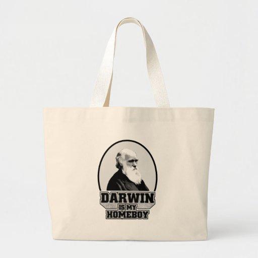 Darwin es mi Homeboy Bolsas