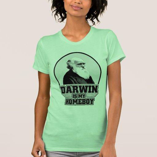 Darwin es mi Homeboy Camiseta