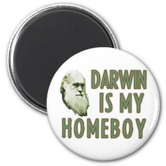Darwin es mi Homeboy Imán Redondo 5 Cm