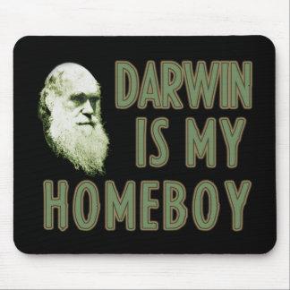 Darwin es mi Homeboy Alfombrilla De Ratón