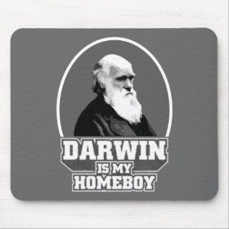 Darwin es mi Homeboy Tapete De Ratones