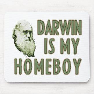 Darwin es mi homeboy tapete de raton