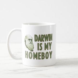Darwin es mi Homeboy Taza