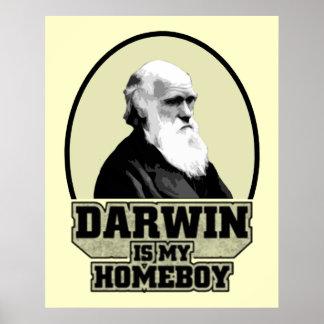 Darwin es mi Homeboy Póster