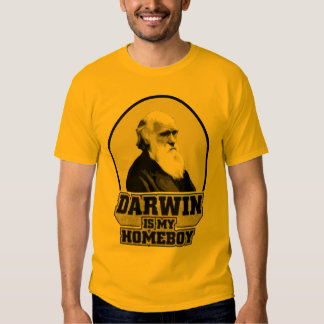 Darwin es mi Homeboy Remeras