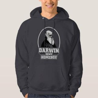 Darwin es mi Homeboy Sudadera Encapuchada