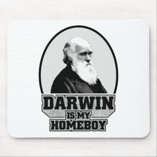 Darwin es mi Homeboy Tapetes De Ratones