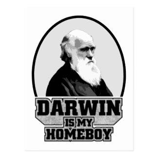 Darwin es mi Homeboy Tarjetas Postales
