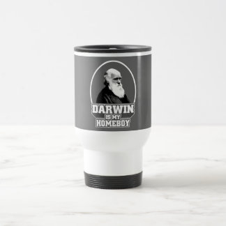 Darwin es mi Homeboy Taza Térmica