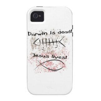 Darwin es muerto - las vidas de Jesús Vibe iPhone 4 Fundas