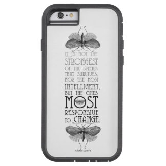 Darwin Evolution Quote Tough Xtreme iPhone 6 Case