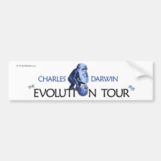Darwin 'Evolution Tour' Bumper Sticker