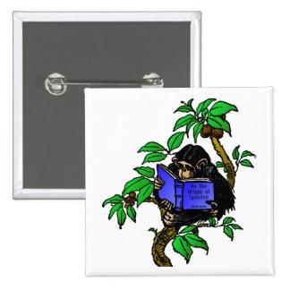Darwin Fan Pinback Button