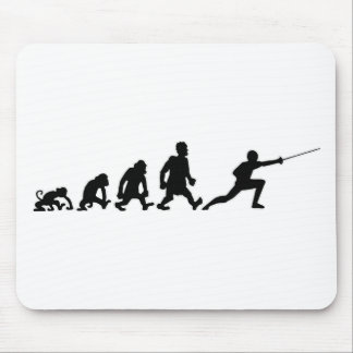 darwin fencing mouse pad