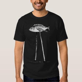 Darwin fish on stilts T-Shirt