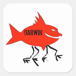 Darwin fish stickers