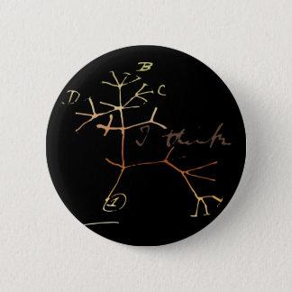 Darwin, I think tree of life Pinback Button