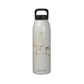 Darwin, I think tree of life Reusable Water Bottles