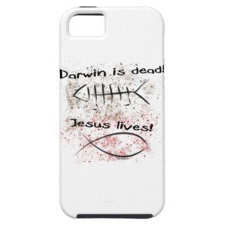 Darwin Is Dead - Jesus Lives iPhone SE/5/5s Case
