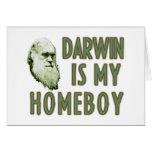 Darwin is my homeboy card
