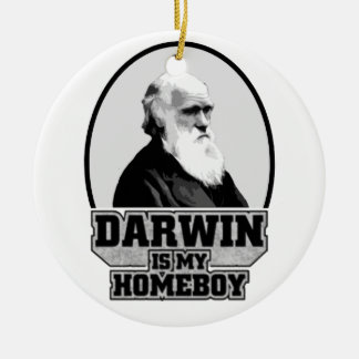 Darwin Is My Homeboy Christmas Tree Ornament