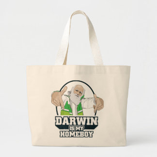Darwin Is My Homeboy (Full Color) Bags