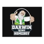 Darwin Is My Homeboy (Full Color) Post Card