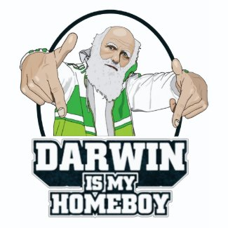 Darwin Is My Homeboy (Full Color) shirt