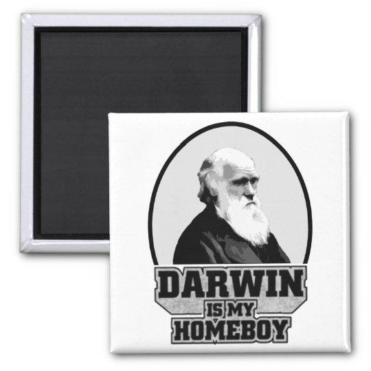 Darwin Is My Homeboy Magnet