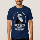 Darwin Is My Homeboy T Shirt