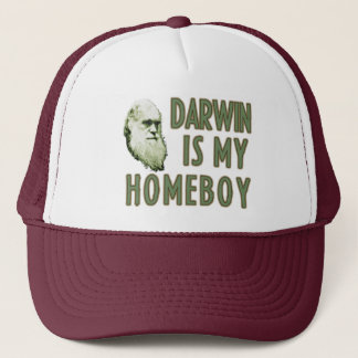 Darwin is my Homeboy Trucker Hat