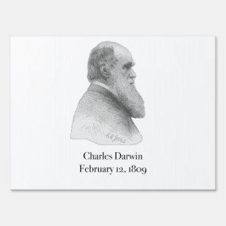 Darwin Lawn Sign