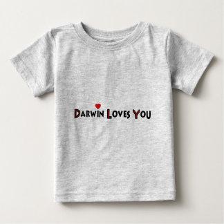 Darwin Loves You Baby T-Shirt