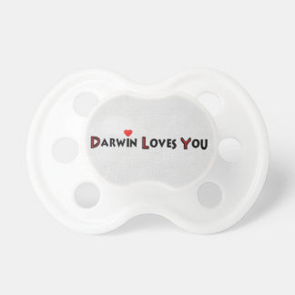 Darwin Loves You BooginHead Pacifier
