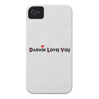 Darwin Loves You iPhone 4 Cover