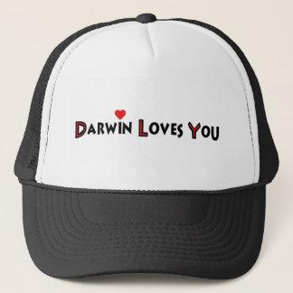 Darwin Loves You Trucker Hat