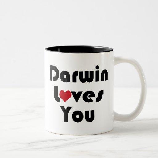 Darwin Lves usted Taza