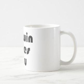 Darwin Lves You Coffee Mug