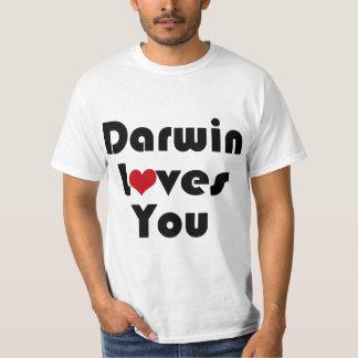 Darwin Lves You T-shirt