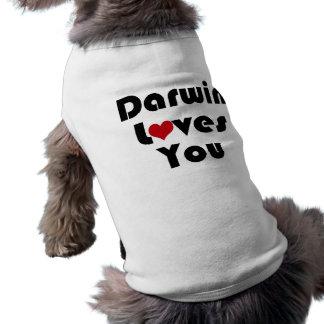 Darwin Lves You Tee